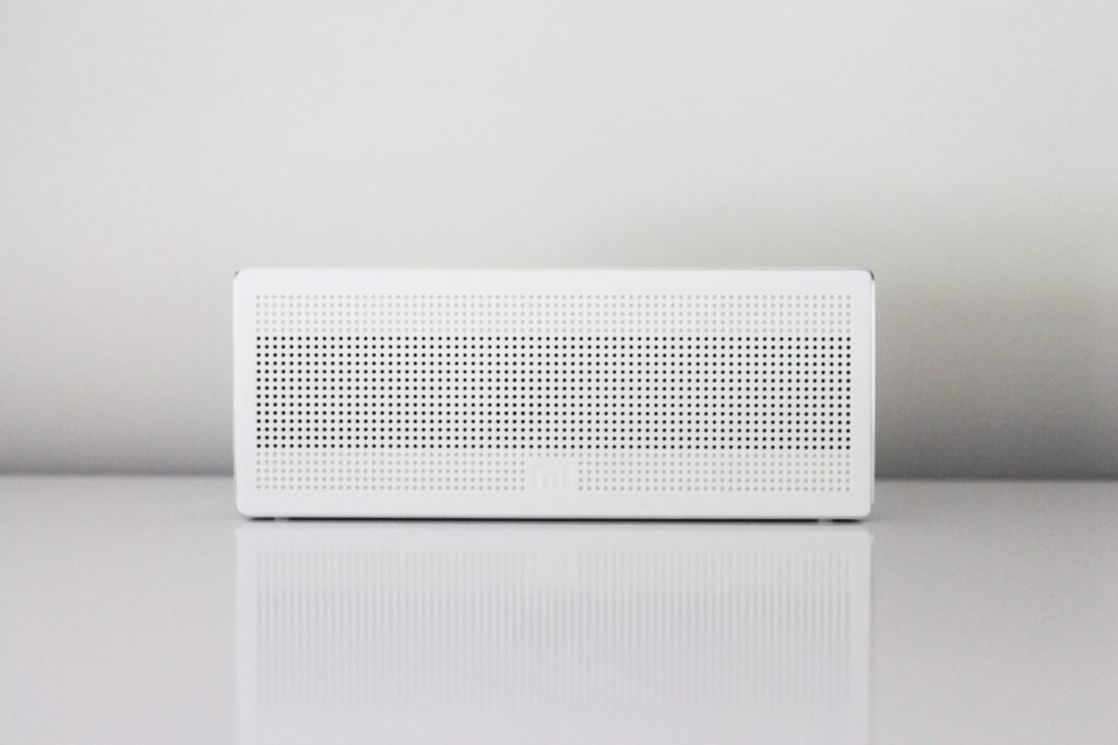 A white box representing the Keep Labs device that won a CES Award